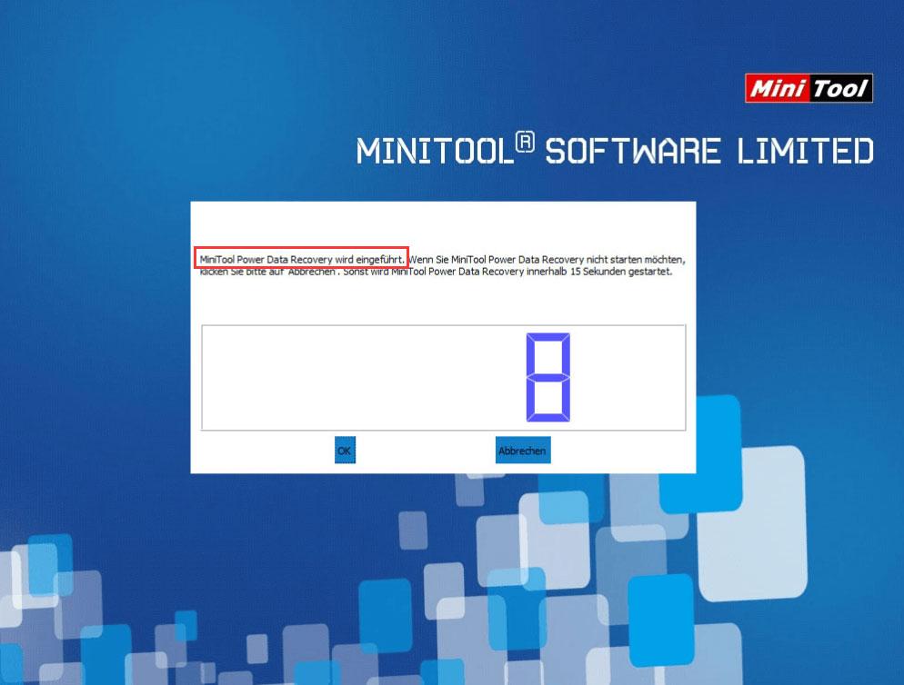 MiniTool einführen