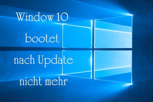 Windows 10 Startet Nicht Schwarzer Bildschirm