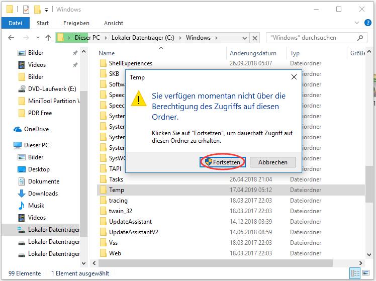 Windows Installer Dateien Löschen