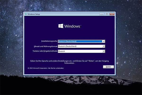 Windows 10 Neu Installieren