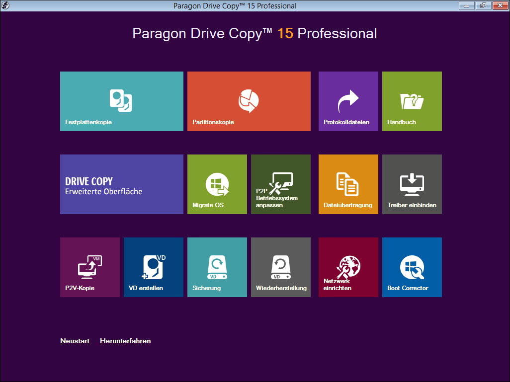 Paragon Drive Copy Professional