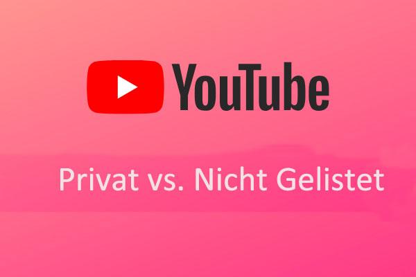 Youtube Nicht Gelistet