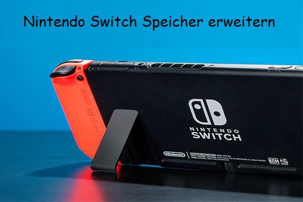Nintendo Switch Speicher Erweitern