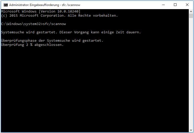 Fehlercode 0x800705b4
