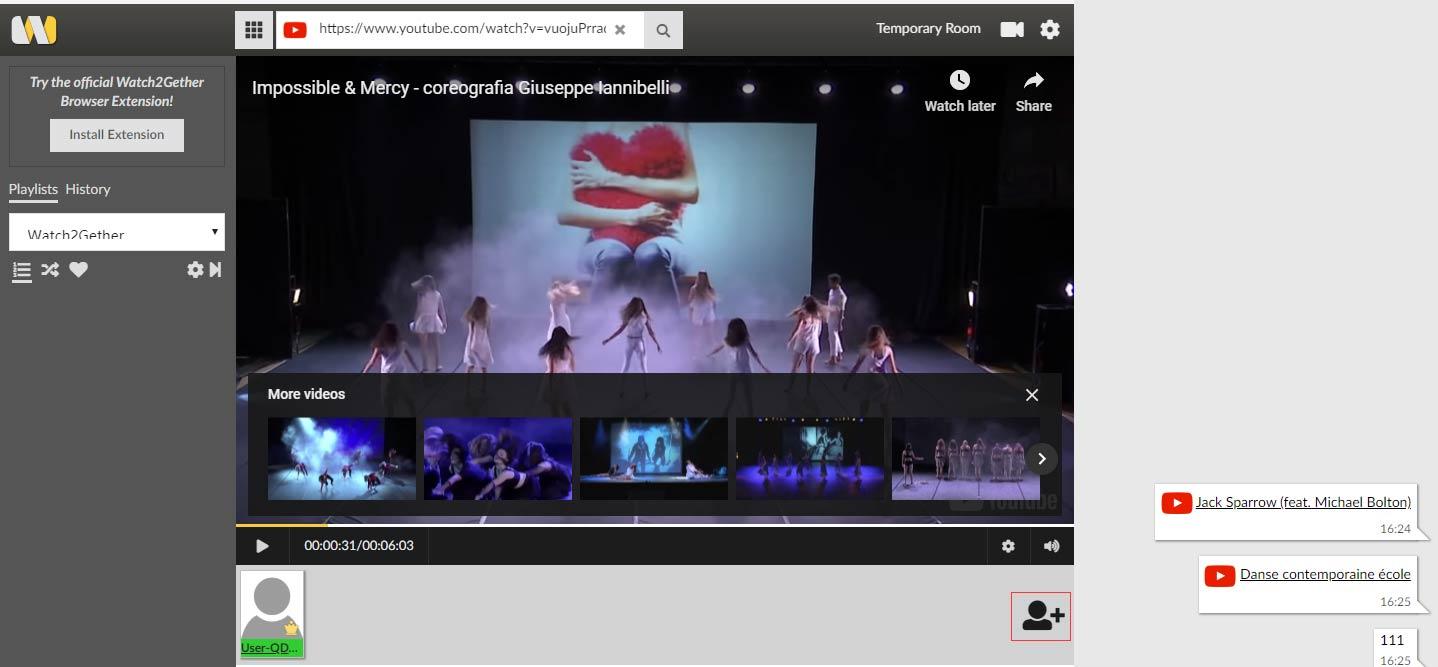 Youtube Zusammen Schauen