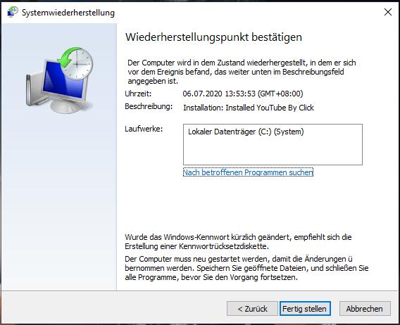 Windows 10 Systemdateien Reparieren