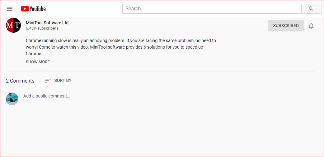 Youtube Kommentare Laden Nicht