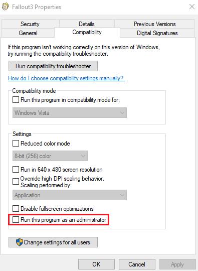 Fallout 3 Startet Nicht Windows 10