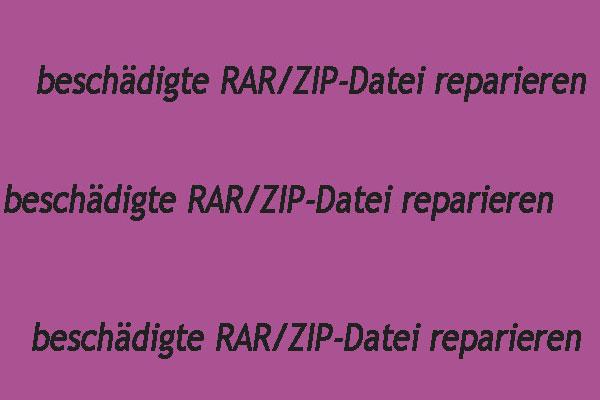 4 Moglichkeiten Defekte Beschadigte Rar Zip Dateien Kostenlos Zu Reparieren