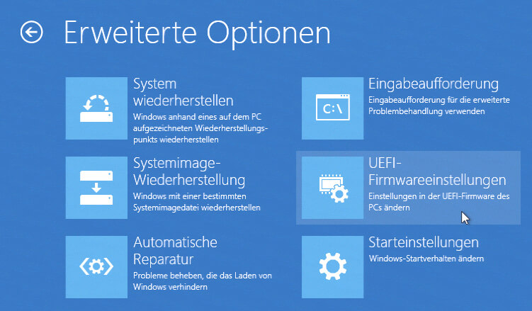 Bios öffnen Windows 7